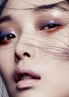 """base work"": sung hee for vogue china october 2013, photographed by marcus ohlsson"