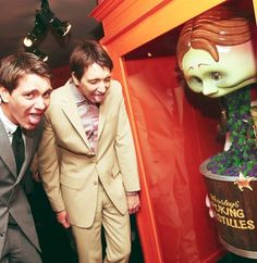 James and Oliver Phelps!!!! LOVE LOVE LOVE