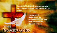 Bible Alive: Matt. 5: 9 Blessed are the peacemakers: for they shall be called the children of God. KJV