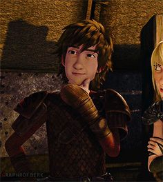 "RTTE | Hiccup | ""What? No! No. I could never."" mmmmmhmmmm <<< This boy has too much sass for someone his size. X3"