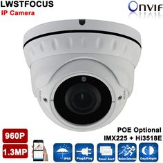 61.50$  Buy here - http://aliuim.worldwells.pw/go.php?t=32744061643 - 1280*960P 1.3MP IP Dome Camera 2.8-12MM lens 30M IR distance ONVIF Waterproof Out/indoor IR Night Vision P2P CCTV Camera System 61.50$