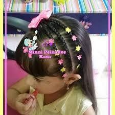 Image result for peinados infantiles Teen Hairstyles, Box Braids Hairstyles, Little Girl Hairstyles, Gymnastics Hair, Baby Girl Hair, Hair Dos, Camila, Diana, Hair Beauty