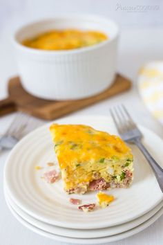 Pressure Cooker Crustless Meat Lovers Quiche @ Pressure Cooking Today