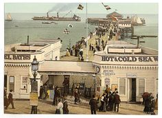 [The pier, Clacton-on-Sea, England] 1900 (LOC) by The Library of Congress, via Flickr