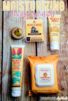 Moisturizing Beauty Essentials with Burt's Bees