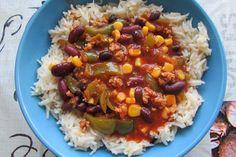 Kulinarne Wariacje: Potrawka meksykańska z ryżem