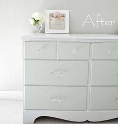 dresser after left side font #refinishedfurniture