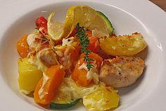 Eichkatzerls herbstlicher  Kartoffel - Kürbis - Auflauf, ein schmackhaftes Rezept aus der Kategorie Gemüse. Bewertungen: 63. Durchschnitt: Ø 4,3.