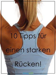 10 Tipps für einen starken Rücken. (Bildquelle: istock)