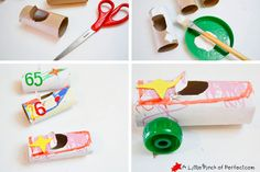 My kids love making crafts they can play with like ourToilet Paper Roll Space ShuttlesandSoda Bottle Space Rocketswhich have been flying in the air ever since we made them. Today'stoilet paper roll cars craft is a perfect create-and-play craft for my kiddos (and hopefully your kiddos too!) My son always has cars in his hands …