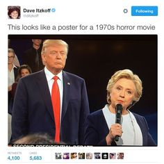 Funny Donald Trump Memes: Horror Movie Poster