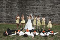 Fun Wedding Photography Photo