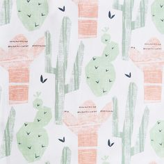 Cactus Jones, Peach Fabric – Tonic Living
