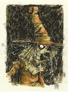 Scarecrow DC by *skottieyoung on deviantART