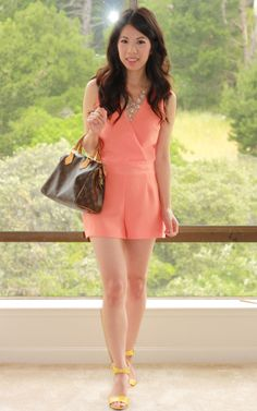 All About Fashion Stuff: Dressing Up The (DIY) Romper -- I wish I could sew my own clothes, this is perfect!
