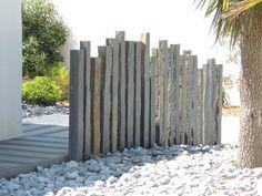 piquet en ardoise bois jardin - Recherche Google