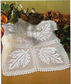 crochet doily ... free pattern on website ;O)