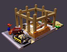 https://flic.kr/p/hH6Yn9 | Building Site - 2 | My lastest modularbuilding, a building site.