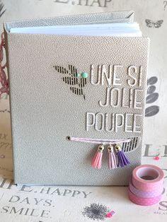 """Le scrap d 'Opsite: Mini album """"une si jolie poupée"""" en Studio Tekturek"""