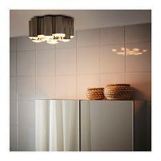 SÖDERSVIK Lampa sufitowa LED - IKEA