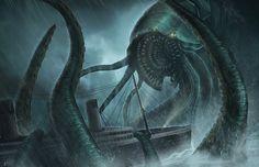 Kraken Attack by BABAGANOOSH99.deviantart.com on @DeviantArt