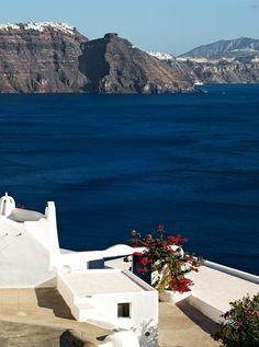 Oia Santorini view
