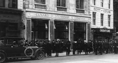Cunard offices in London were overwhelmed with those looking for news of their loved ones.