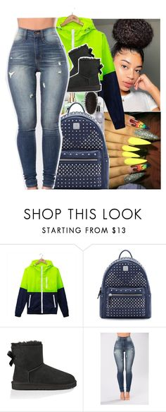 """""""Untitled #813"""" by issaxmonea ❤ liked on Polyvore featuring MCM and UGG Australia"""