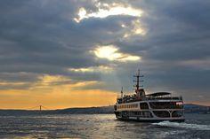 Bosphorus of Istanbul, #Turkey - مضيق البسفور في #اسطنبول