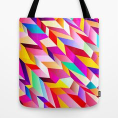 Happy Sunshine Funhouse  Tote Bag by House of Jennifer - $22.00