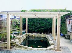 1000 images about ideas to cover pond from osprey on for Fish pond cover ideas