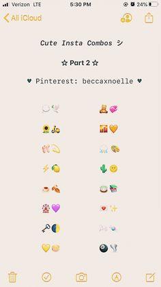 Emoji For Instagram, Instagram And Snapchat, Instagram Quotes, Cute Emoji Combinations, Smoking Quotes, Cute Instagram Captions, Selfie Captions, Most Beautiful Words, Funny Emoji