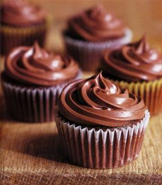 Chocolate-Orange Cupcakes Recipe. Ahhhhh.