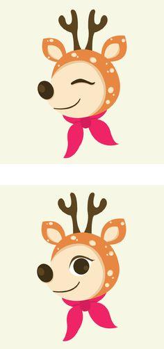 Christmas Series - Illustration by DEVINA HARTANTO, via Behance