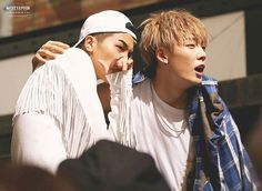 Mino + Bobby in their new MV Hit Me