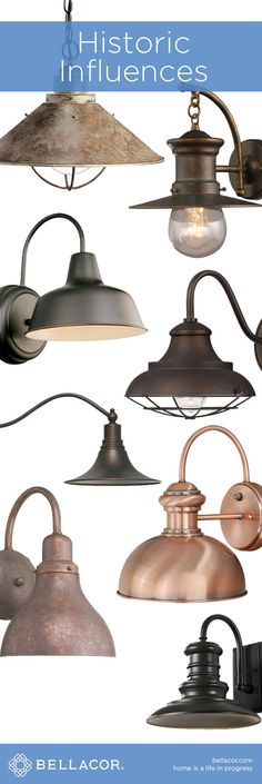 Historic Influences on Lighting. Labor Junction / Home Improvement / House Projects / Lighting / House Remodels / www.laborjunction.com