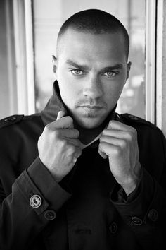 Jesse Williams by Jim Wright - those eyes!