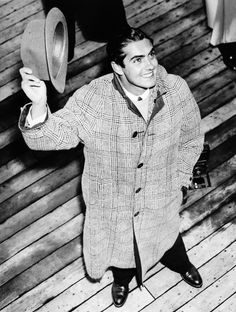 Beautiful Tyrone Power, 1930s - famous WH resident