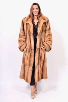 CANADIAN SABLE FUR COAT SOBOL ZOBEL -FULL SKINS- CLASS OF LYNY CHINCHILLA  MINK   d1c12aca470