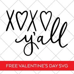 valentinesday design Make your Own Valentines Day Shirt with a Free Hand Lettered XOXO Yall Valentines Day SVG by Pineapple Paper Co. All Valentine Day, Valentines Day Shirts, Valentine Crafts, Valentinstag Shirts, Cricut Craft Room, Valentine's Day Diy, Papers Co, Industrial Design, Pineapple