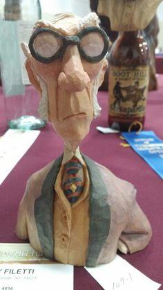 Tony Filetti carving