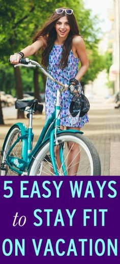 How to stay in shape while you're on vacation via @Erin Taylor.com