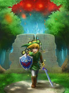 A Link Between Worlds by EternaLegend on deviantART | The Legend of Zelda: A Link Between Worlds, Link