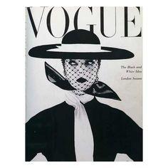 Jean Patchett Vogue Magazine June 1950 Cover Photo - United Kingdom ❤ liked on Polyvore