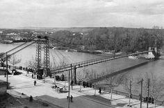 Pasarela sobre el Ebro (1936) Ebro, Zaragoza, Antique Photos, Walkway, Cities, Fotografia