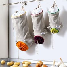 Kitchen idea - a Bag for storing vegetables and fruits.