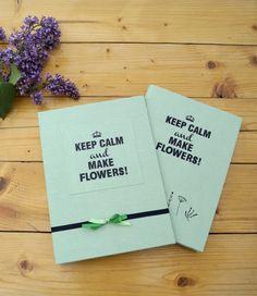 Notebook for a florist :)