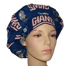 Scrub Hats  New York Giants Fabric by ScrubHeads on Etsy