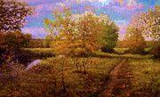 Nature Oil Canvas Landscape by Edna Wallen
