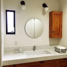 実験用シンク/IKEA/IKEA 照明/洗面所/洗面台/造作洗面台…などのインテリア実例 - 2016-10-19 18:12:37 | RoomClip(ルームクリップ)